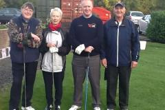 Helen Prisk, Pat Hill, Mark Pointon & Steve Taylor