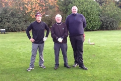 Chris Lowe, Ken O'Reilly & Craig Fleming